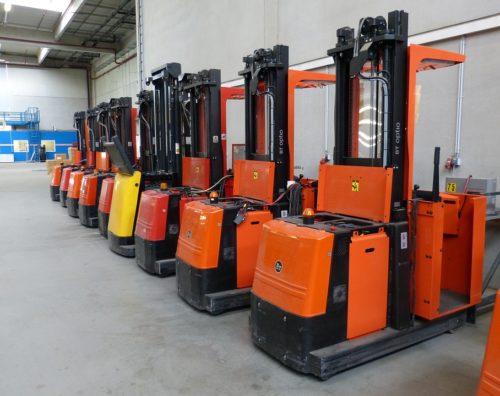 Operator wózków widłowych wysokiego składowania w Holandii